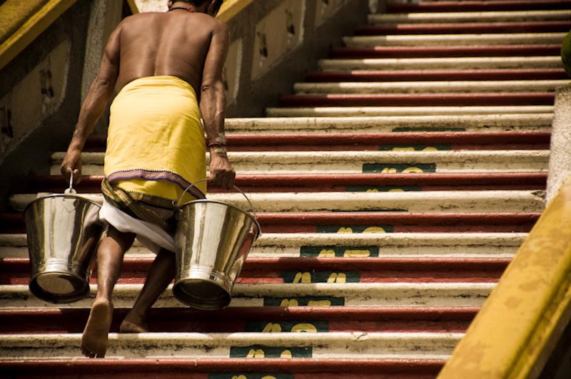 Stairs of devotion
