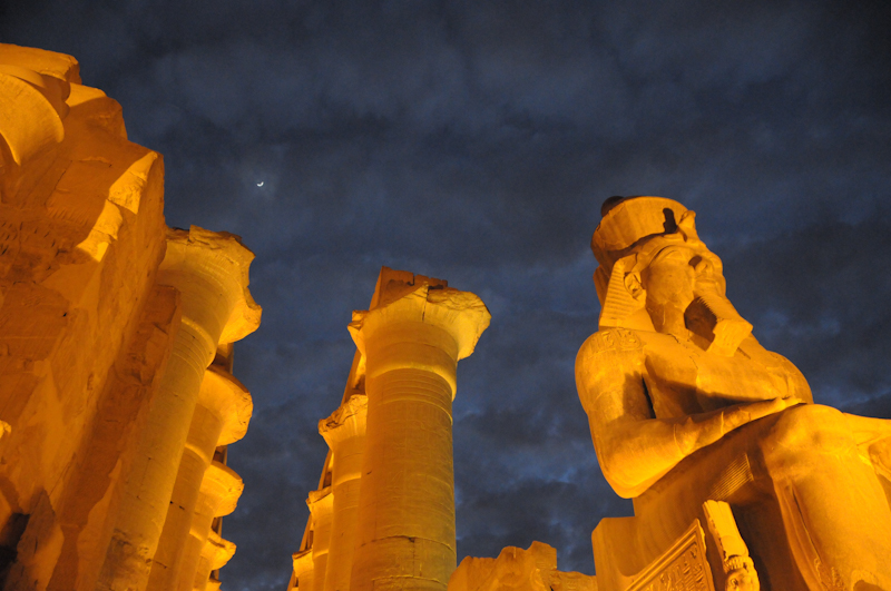 Ramses II at Luxor Temple