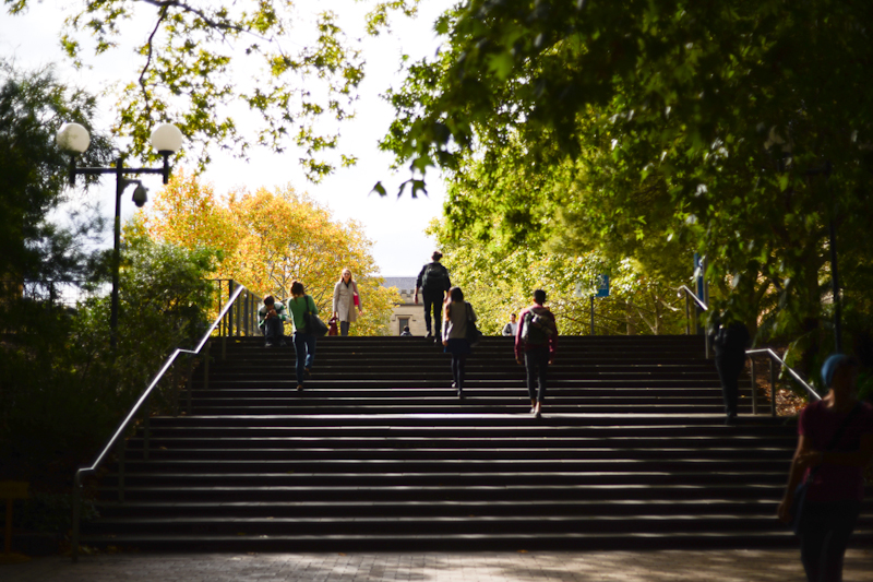 South Lawn steps, University of Melbourne