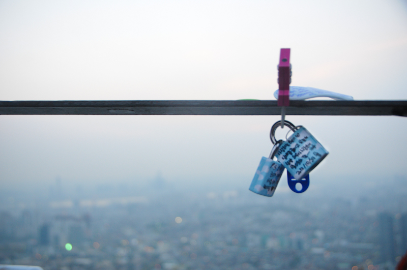 Locked at Namsan, Seoul
