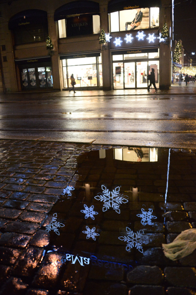 Christmas, reflected