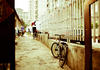 Bike in alley, Beijing